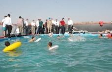 Midyat'ta Yüzme Bilmeyen Çocuk Kalmayacak