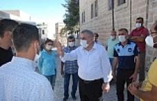 Başkan Veysi Şahin, yapımı devam eden projeleri inceledi