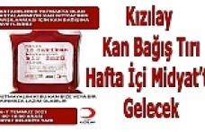 Kızılay Kan Bağış Tırı Hafta İçi Midyat'ta Gelecek