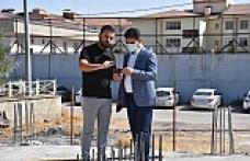 Başkan Aksoy, Gençlik Merkezini İncelemelerde Bulundu