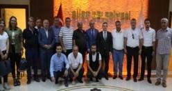 Bölge Gazeteciler Cemiyeti Siirt'te Toplandı