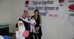 Cennet Gülleri' minik öğrencileri, Kur'an okumaya geçti