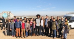 Midyat'ta 3 Bin 500 fidan toprakla buluştu