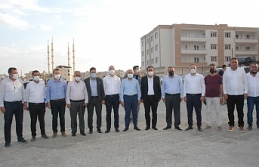 Vali Demirtaş, Milletvekili Dinçel ve Başkan Şahin,...