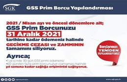 SGK Prim Borcu yapılandırma çağrısı