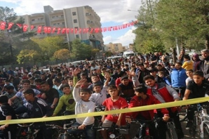 Midyat Küçük Adımlarla Büyük Yarınlara Bisiklet Turu