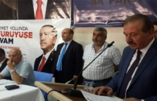 AK Parti Savur İlçe Teşkilatının 6. Olağan İlçe...