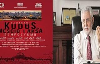 """""""Uluslararası Kudüs ve Mescid-i Aksa Sempozyumu""""..."""