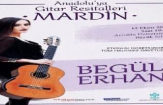 Mardin'de Begül Erhan'dan ''Anadolu'ya...