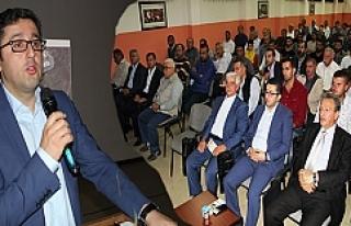 Midyat'ta Sanayi Sitesi tapu dağıtım töreni...