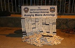 Midyat'ta 3 Bin Paket Kaçak Sigara Ele Geçirildi