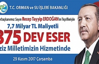 Orman Ve Su İşleri Bakanlığı, 7,7 Milyar Liralık...