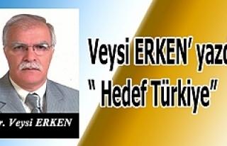 """Veysi ERKEN' yazdı  """" Hedef Türkiye"""""""