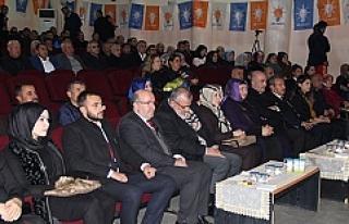 AK Parti Midyat Kadın Kolları Başkanlığına Elif...