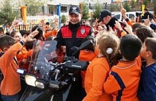 """Mardin'de """"Güvenli Okul Güvenli Çevre Projesi""""..."""
