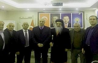 AK Parti İl Başkanı Eri'ye Tebrik Ziyaretleri