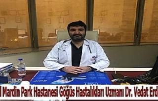 Dr. Vedat Erdem, Astım Hastalığına Dikkat Çekti