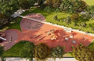 Kabala'ya Yakışan Bir Park İçin Çalışmalar...