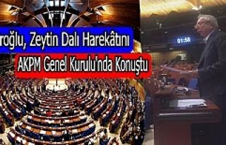 Miroğlu, Zeytin Dalı Harekatını AKPM Genel Kurulu'nda...