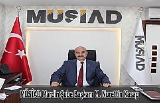 MÜSİAD'tan, Zeytin Dalı Harekâtına Destek
