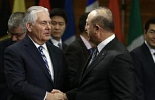 Dışişleri Bakanı Çavuşoğlu ve Tillerson'dan...