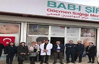 Göçmen Sağlığı Merkezi Bab-ı Şifa Hizmet Vermeye...