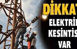 Midyat'ta Elektrik Kesintisi Uygulanacak