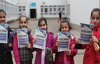 Midyat'ta binlerce kişi siyer sınavı heyecanı...