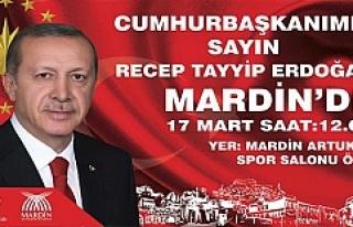 Cumhurbaşkanı Recep Tayyip Erdoğan, Mardin'e...