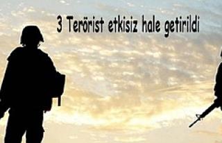 Dargeçit'te 3 Terörist etkisiz hale getirildi