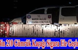 Mardin'de 18 bin 210 Kaçak Sigara ele Geçirildi