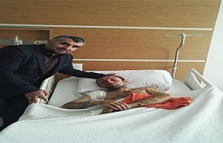 Zeytin Dalı Harekâtında Yaralanan Acun'un Sağlığı...