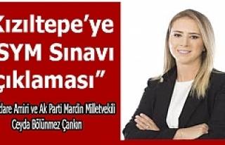 Bölünmez Çankırı, Kızıltepe'ye ÖSYM Sınavı...
