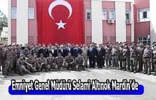 Emniyet Genel Müdürü Selami Altınok Mardin'de