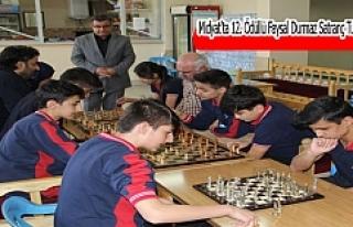 Midyat'ta 12. Ödüllü Faysal Durmaz Satranç Turnuvası...