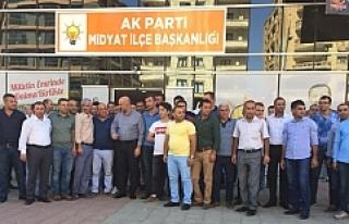 Midyat'ta Sığınmacı Kampı ÇalışanlarıBaşka...