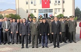 Midyat'ta 10 Kasım Atatürk'ü Anma Töreni...