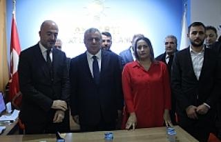 Midyat Belediye Başkan Adayı Şahin'den Basın...