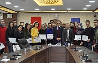 Belediyesi Personeline Girişimcilik Eğitimi Sertifikası