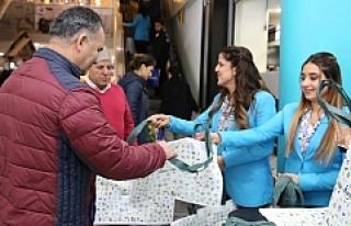 Büyükşehir Belediyesinden 'Bez Alışveriş Çantası'