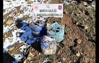 Mardin'de 150 Kilo Patlayıcı Ele geçirildi