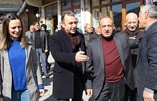 AK Parti'nin Savur Belediye Başkan adayı Kaya,...