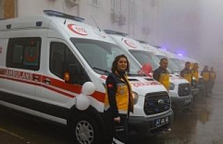 Mardin'de 8 Ambulans daha hizmete girdi