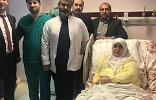 Mardin'de Bir İlk, Ayak Bileği Dondurma Ameliyatı...
