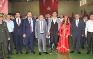 Midyat'ta, 19 Mayıs Atatürk'ü Anma Gençlik...