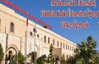 Mardin Artuklu Üniversitesi, Filistin'in Kudüs...