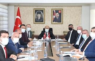 Vali Demirtaş İlçe Belediye Başkanları İle Bir...