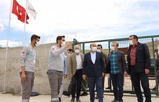 Vali Demirtaş, Savur'da altyapı ve üstyapı çalışmalarını...