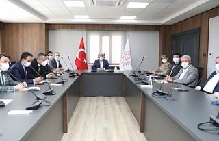 """Vali Demirtaş'ın Başkanlığında """"Pazaryerleri""""..."""