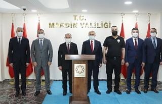 Emniyet Genel Müdürü Aktaş Vali Demirtaş'ı...